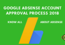 Google Adsense Account Approval Process 2018