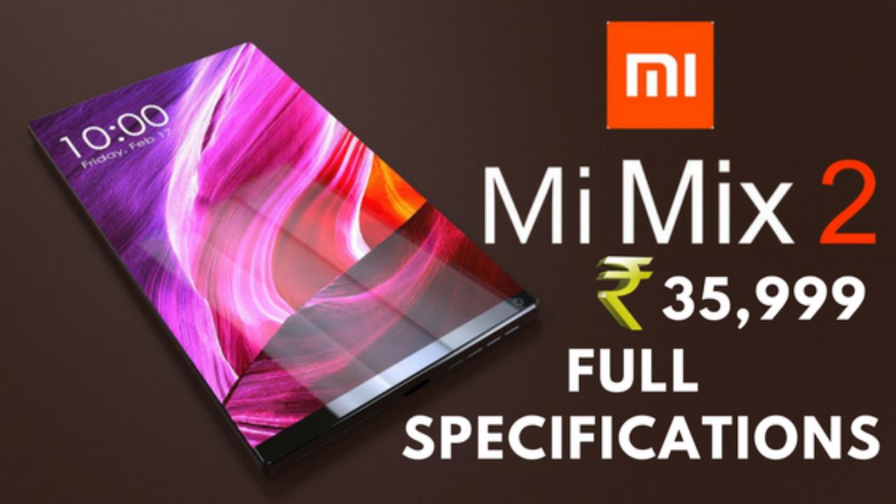 Xiaomi Mi MIX 2 - Full Phone Specifications - Price in India - Okey Ravi