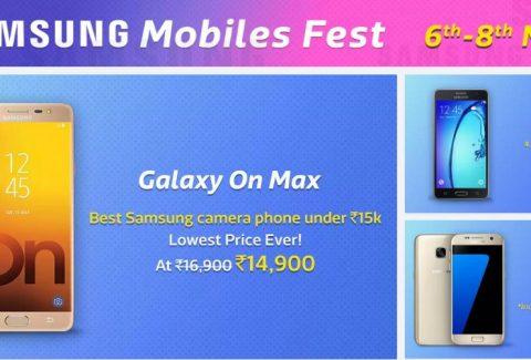 Flipkart Samsung Mobile Fest