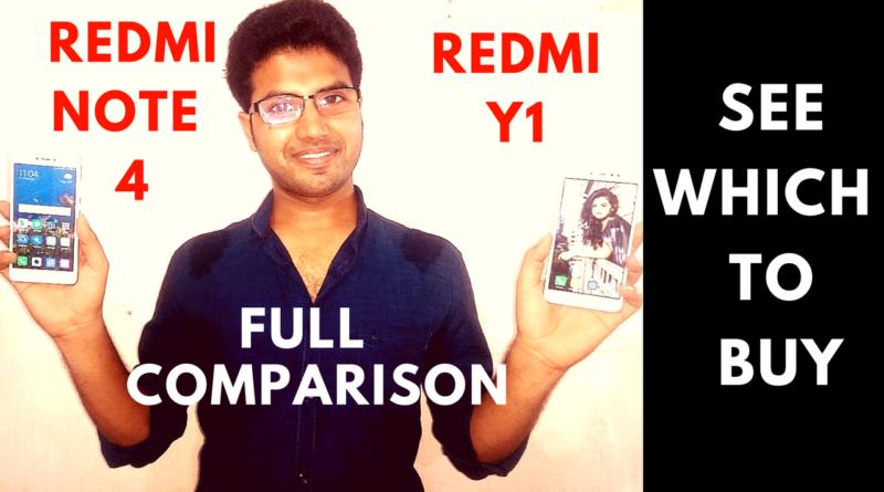 Redmi y1 vs Redmi note 4 okey ravi
