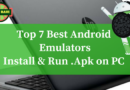 Top 7 Free Android Emulators | Run Android Apps on PC/Windows 7/8/10