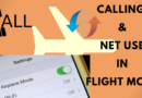 How to Call and Use Internet in Flight mode 100% working trick
