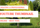 Create Professional YouTube Thumbnail online | Best Tool Canva