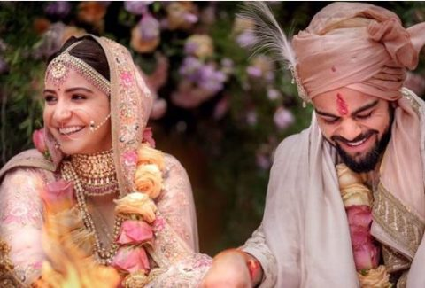 Anushka Virat Marriage images and news
