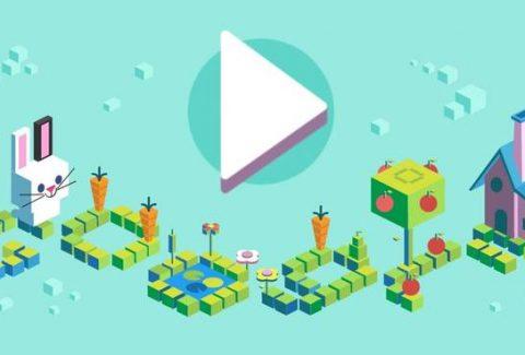 Google Doodle 50 yrs celebration