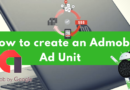 How to create an Admob Ad Unit for Your Android Application.
