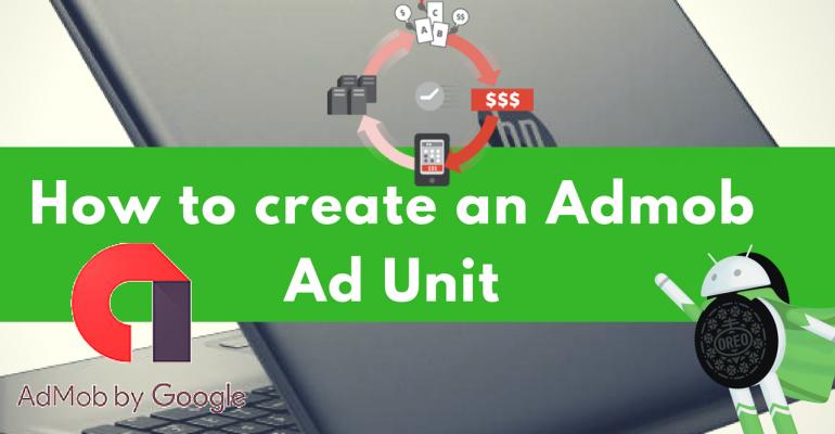 how to create a admob ad unit