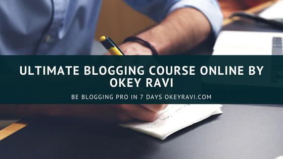Ultimate Blogging Course Online