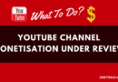 YouTube Channel Monetization Under Review after getting 10K Views