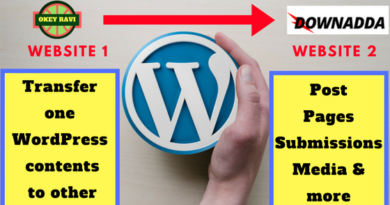 How to Transfer Posts and Pages on WordPress Websites?