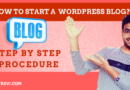 How to Create a WordPress Website Step by Step Procedure
