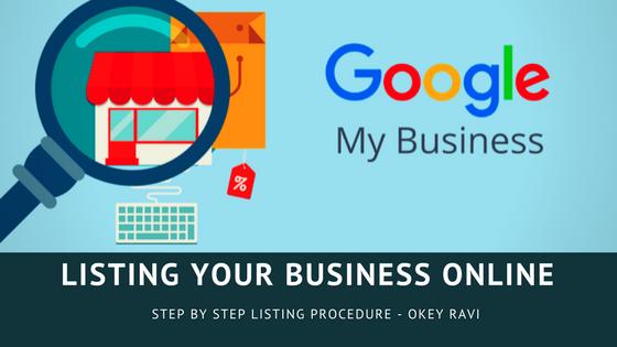 Business listing on Google