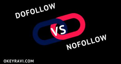 DoFollow vs NoFollow Backlinks Okey Ravi