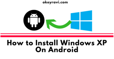 install windows Xp on Android