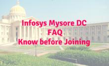Infosys Mysore DC Hostel Room facilities- Employee Care Center
