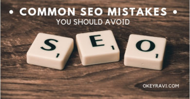 Common Seo Mistake You Should Avoid Okeyravi.com