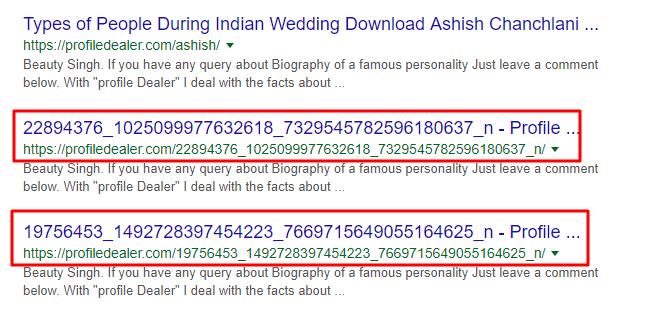 Malicious indexed links on Google okey ravi (okeyravi.com)