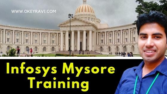 Infosys Mysore Campus System Engineer training - classroom gec food courts okey ravi