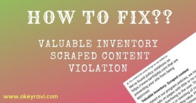Fix Valuable Inventory Scraped Content Adsense Policy Violation