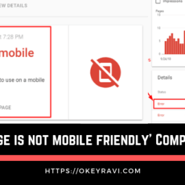 This page is not mobile friendly complete fix by okey ravi seo