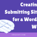 Create & Submit Sitemap for a WordPress Website with pictures