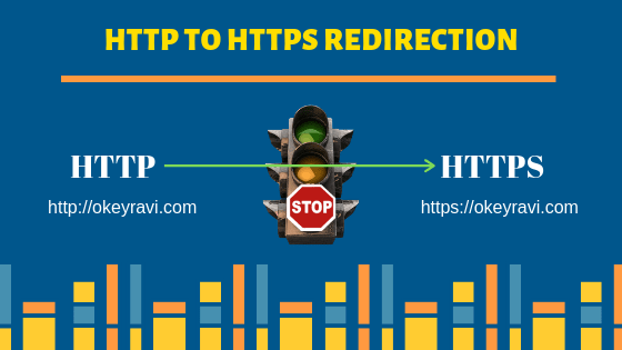http to https redirection using .htaccess file okey ravi