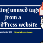 How to bulk delete unused tags from a WordPress website?