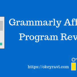 Grammarly Affiliate Program review