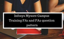 Infosys Mysore Campus Joining 2019 - Freshers Top Queries