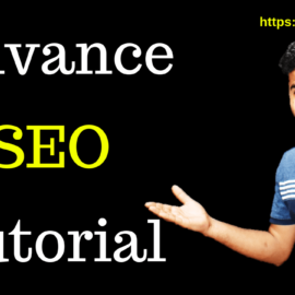Advance SEO tutorial by OK ravi for beginners