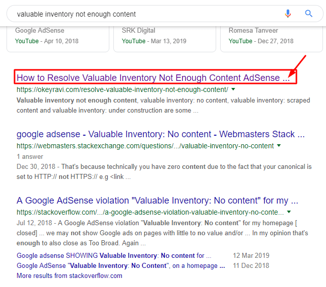 SEO title length, Google trims the title in Search