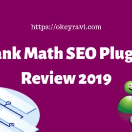 Rank math SEO Plugin Review 2019 - Premium SEO features - Okey Ravi