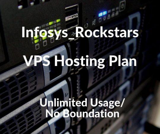 Infosys_Rockstars VPS Hosting Plan