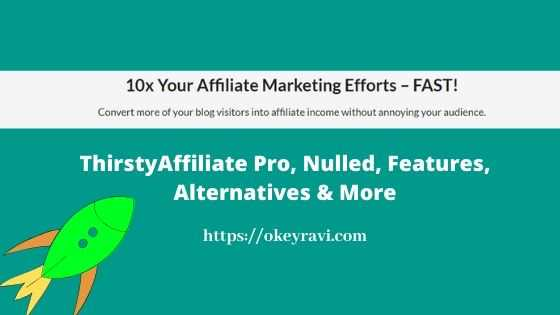 ThirstyAffilite Nulled and Alternatives