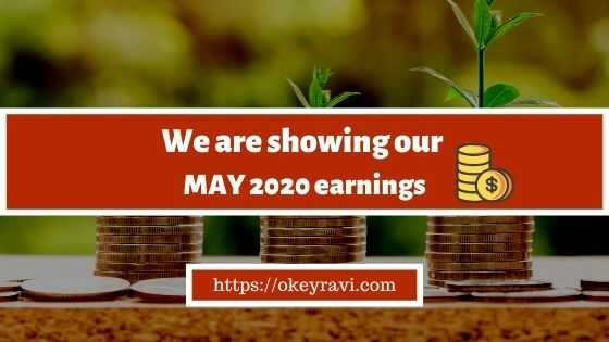 Money Earned by OK Ravi in May 2020