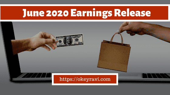 OK Ravi June 2020 Earnings Release