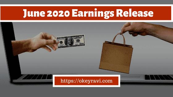 OK Ravi June 2020 Earnings Release