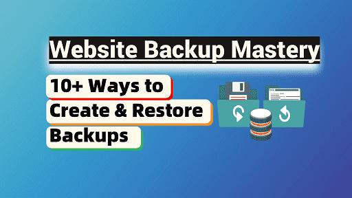 Website Backup Mastery