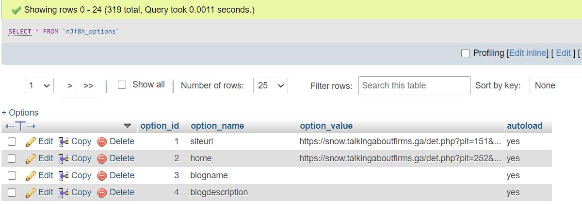 talkingaboutfirms.ga WordPress redirection Malware Fix
